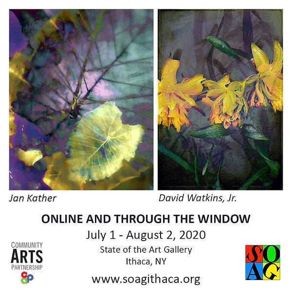 Online & Through the Window