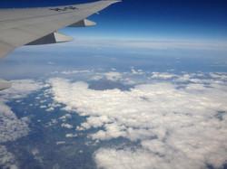 Mt Fuji in the Clouds