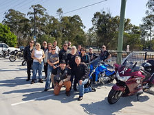 Village Rockers ride for White Ribbon