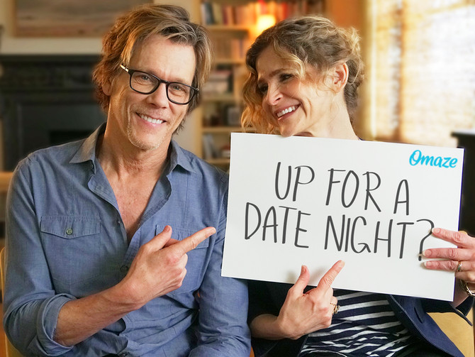 Win a Double Date with Kevin Bacon and Kyra Sedwick