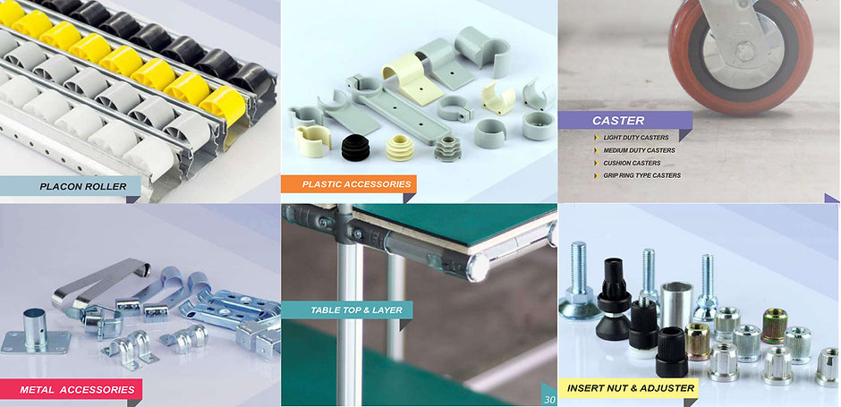 Lean Kaizen, Pipe and Joint, Flexible, Customize, Lean Pipe