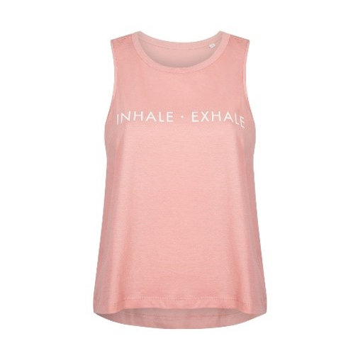 "Organic Cotton Tank ""Inhale - Exhale"""