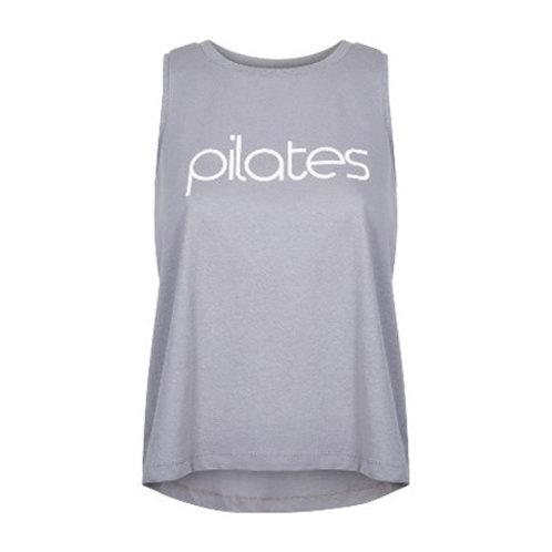 "Organic Cotton Tank ""Pilates"""