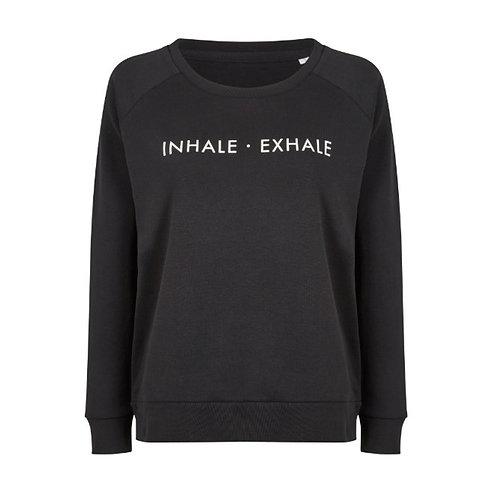 "Organic Cotton Sweat ""Inhale - Exhale"""