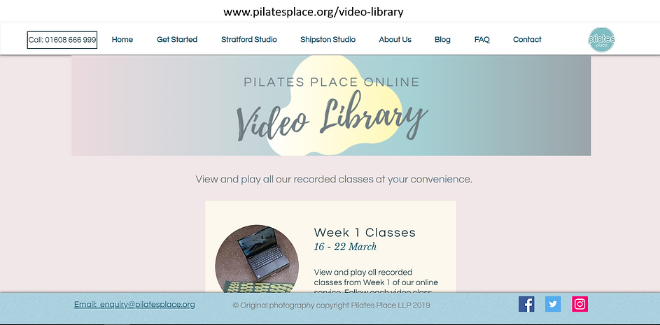 Step 1 video library page.png