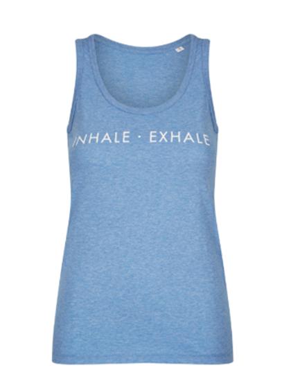 """Organic Cotton Vest """"Inhale - Exhale"""""""