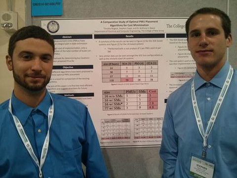 EE Students Receive IEEE Award for Research
