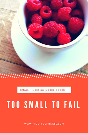 Too Small To Fail   put aside your beliefs