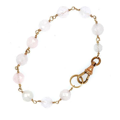 Pale Rose Quartz Bracelet