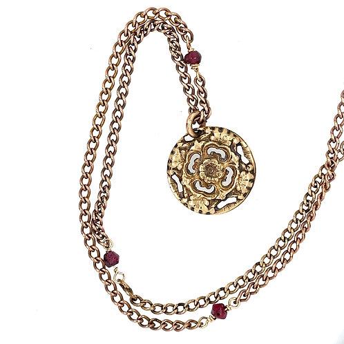 Victorian Era Button Necklace