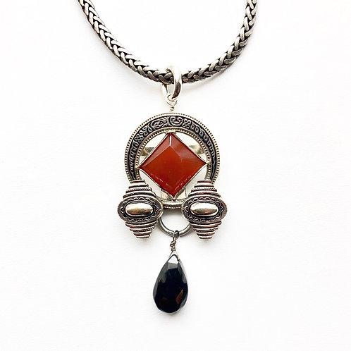 Antique Buckle Necklace