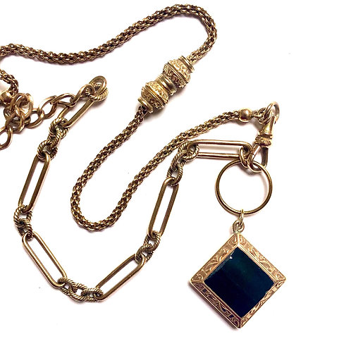 Victorian Assemblage Charm Necklace