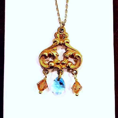 Gilt Metalwork Necklace