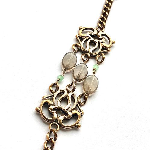 Embellished Watch Fob Bracelet