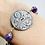 Thumbnail: Victorian Marigold Button Bracelet