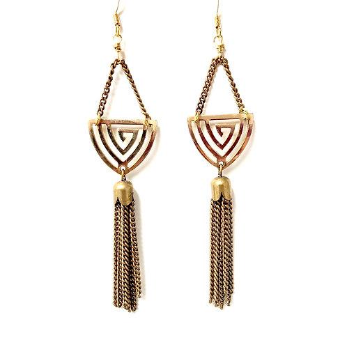Fob Metalwork Earrings wholesale
