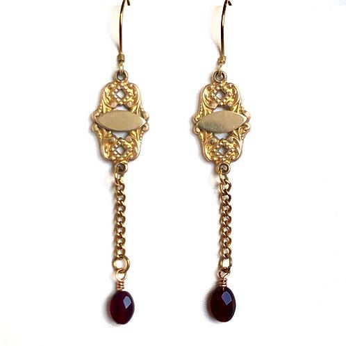 Fob Metalwork Earrings