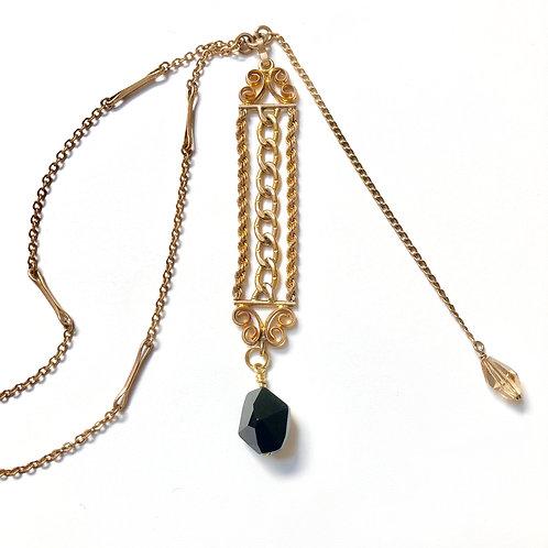 Antique Chain Fob Necklace  wholesale