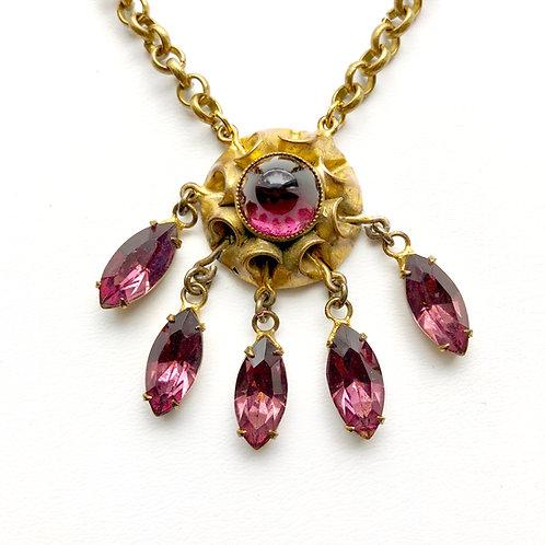 Antique Embellishment Necklace