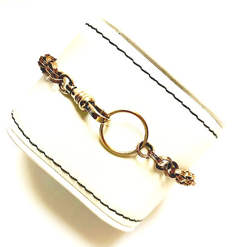 Antique Chain with Vermeil Ring