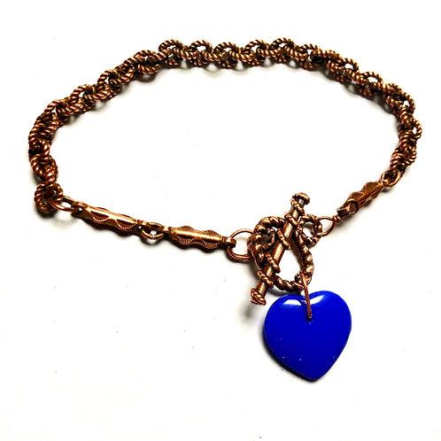 True Blue Toggle Bracelet