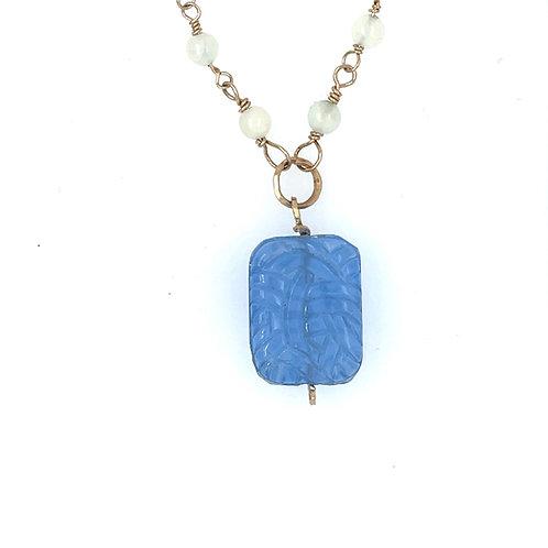 Deco Pendant Necklace