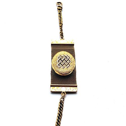Mesh Watch Fob Bracelet