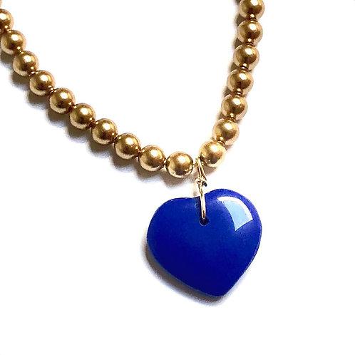 True Blue Swarovski Pearl Necklace