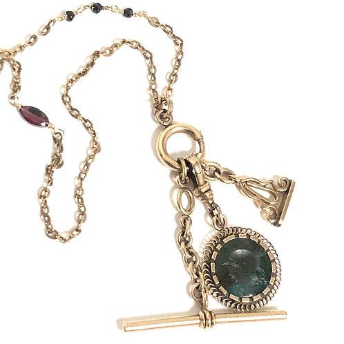 Victorian Era Charm Necklace