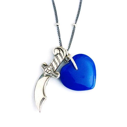 True Blue Heart and Dagger
