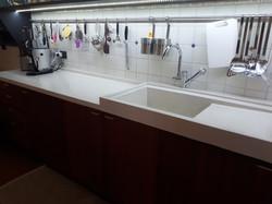 Lavello e piani cucina su misura