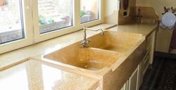 Lavello Gran Cucina e piani cucina realizzati su misura