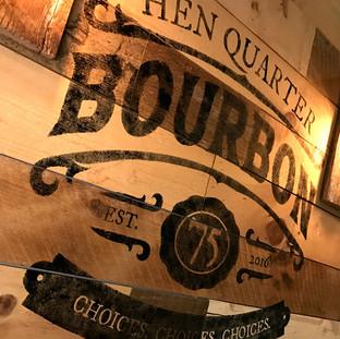 Hen Quarter Bourbon Stamp