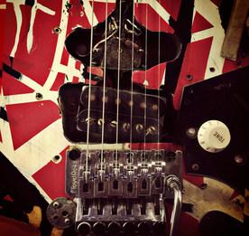 Eddie Van Halen Frankenstein Guitar