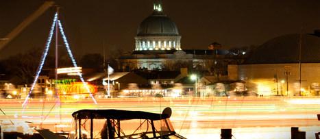 Annapolis Boat Lights