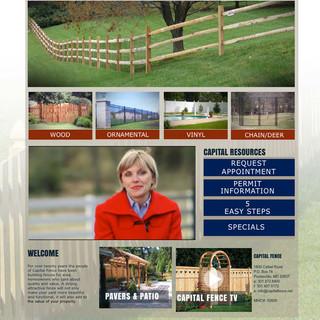Capital fence