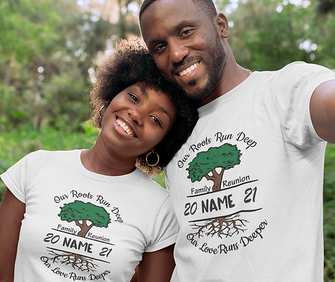 Family Tree Adult Unisex Tee - Personalize Me!