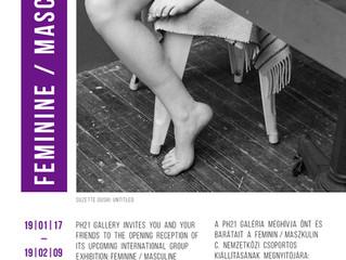 Being an Artwork at Feminine/Masculine, International Exhibition