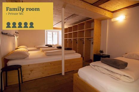 Family Room Sust Lodge Andermatt