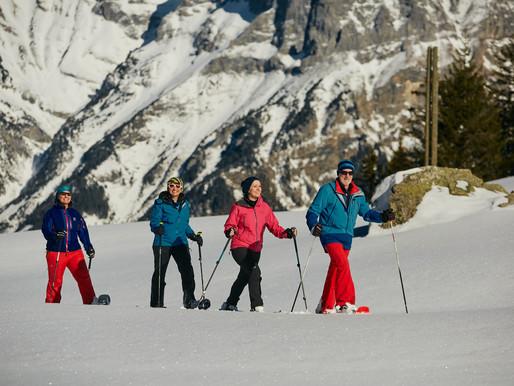 Schneeschuhwandern im Urserntal