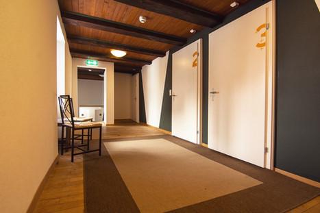 hallway Sust Lodge Andermatt