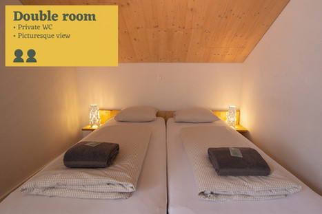 Double room Sust Lodge Andermatt