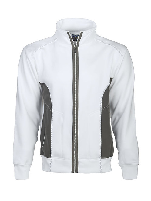 Sweat-shirt double col montant