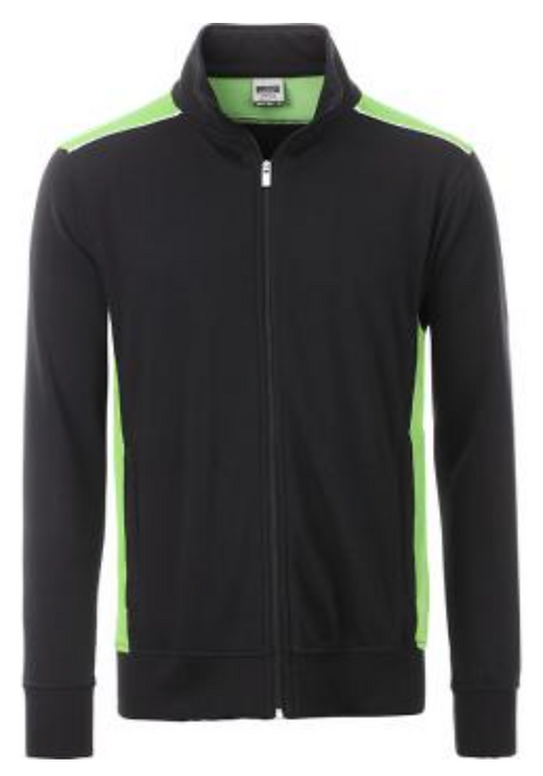 Sweat-shirt zippé homme