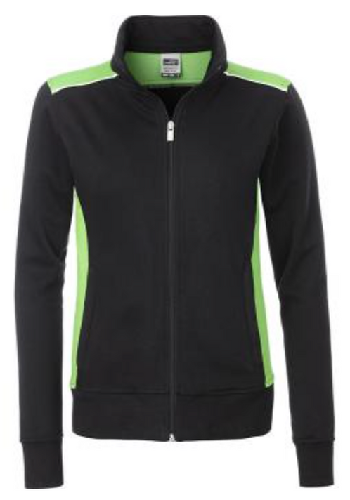 Sweat-shirt zippé femme