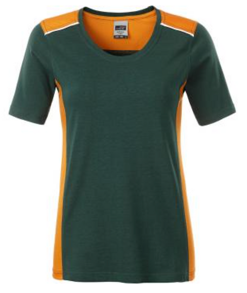T-shirt workwear Color femme
