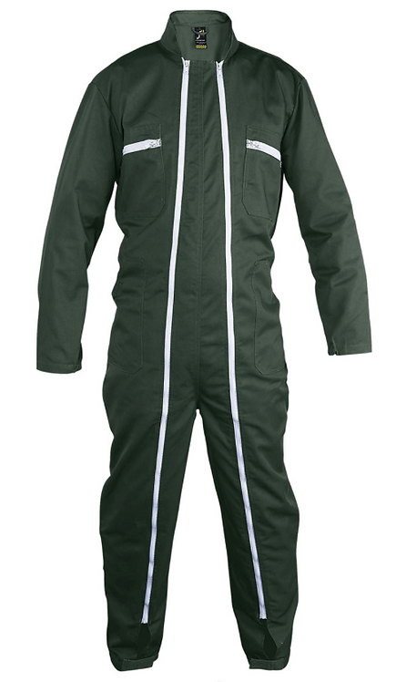 Combinaison workwear double zip