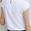 Thumbnail: Top col plissé manches courtes