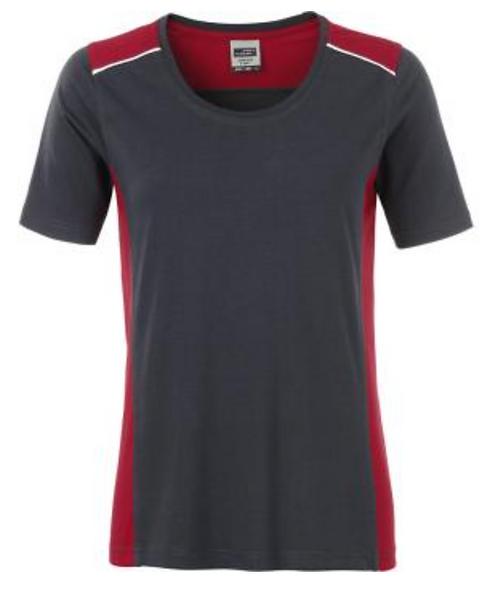 T-shirt workwear Color femme