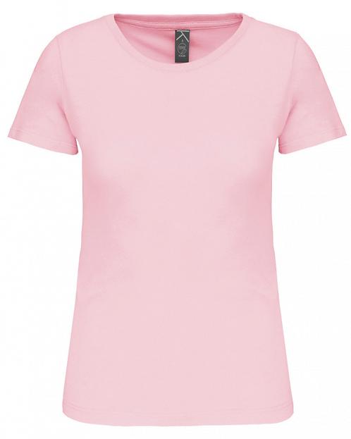T-shirt col rond femme bio